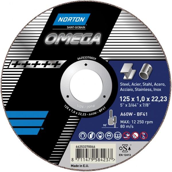 Trennscheibe OMEGA für Metall/Inox