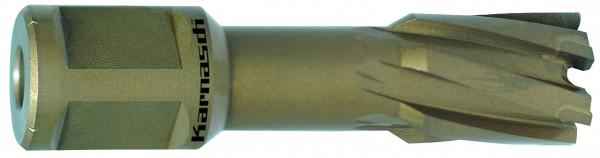 Kernbohrer HM Hard-Line, Schnitttiefe 40 mm, Weldon 19 mm