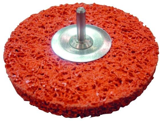 Reinigungsscheibe Blaze Rapid Strip mit Schaft